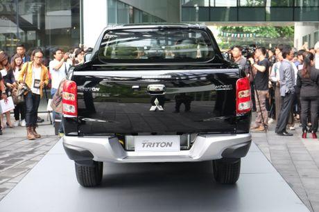 Mitsubishi Triton 2017 ra mat tai Thai Lan - Anh 3