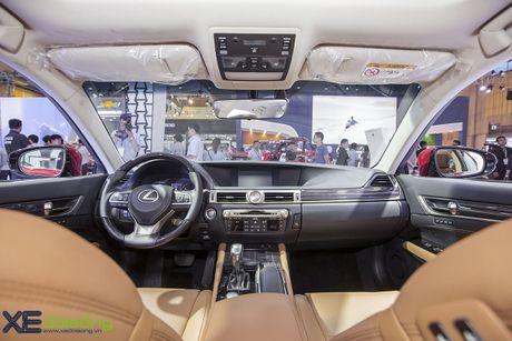 Dien kien xe sang Lexus GS Turbo 2016 moi gia 3,13 ti dong - Anh 11