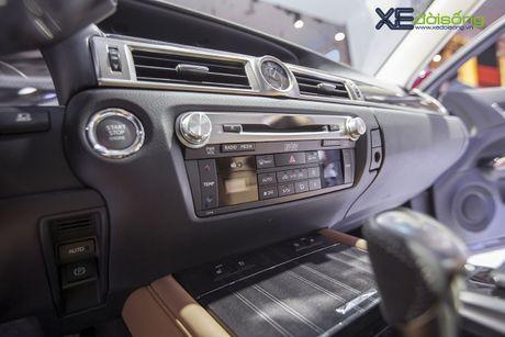 Dien kien xe sang Lexus GS Turbo 2016 moi gia 3,13 ti dong - Anh 14