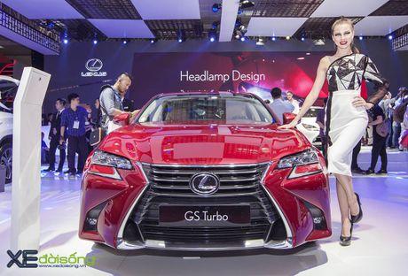 Dien kien xe sang Lexus GS Turbo 2016 moi gia 3,13 ti dong - Anh 1