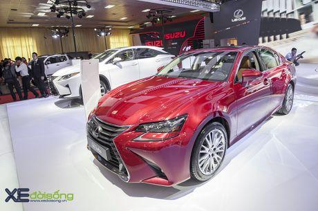 Dien kien xe sang Lexus GS Turbo 2016 moi gia 3,13 ti dong - Anh 2