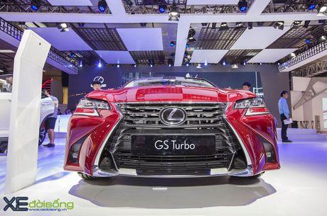 Dien kien xe sang Lexus GS Turbo 2016 moi gia 3,13 ti dong - Anh 6