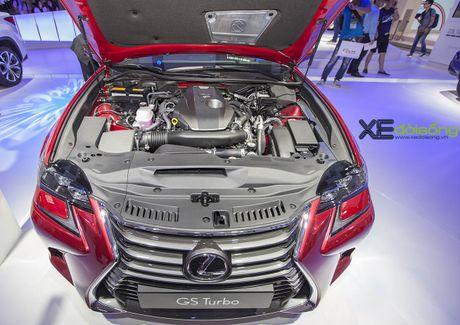 Dien kien xe sang Lexus GS Turbo 2016 moi gia 3,13 ti dong - Anh 7