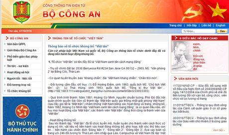 Bo Cong an dua 'Viet tan' vao danh sach to chuc khung bo - Anh 1