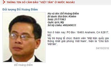 Bo Cong an dua 'Viet tan' vao danh sach to chuc khung bo - Anh 2