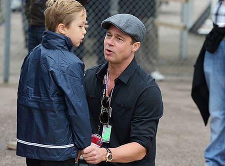 Brad Pitt lần đầu được gặp con sau vụ ly hôn