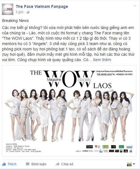Fan Viet bat ngo tim ra 'ban sao sieu loi' cua The Face den tu… Lao - Anh 2