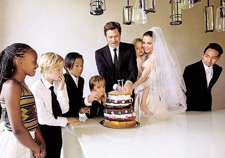 Brad Pitt da duoc gap cac con - Anh 2