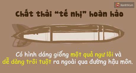 Xem hinh dang chat thai 'te nhi' biet ngay co the ban dang nhu the nao! - Anh 2