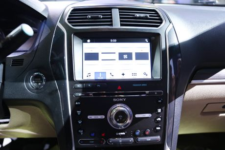 Chi tiet Ford Explorer 2017 tai VN: Manh me, dam chat My - Anh 2