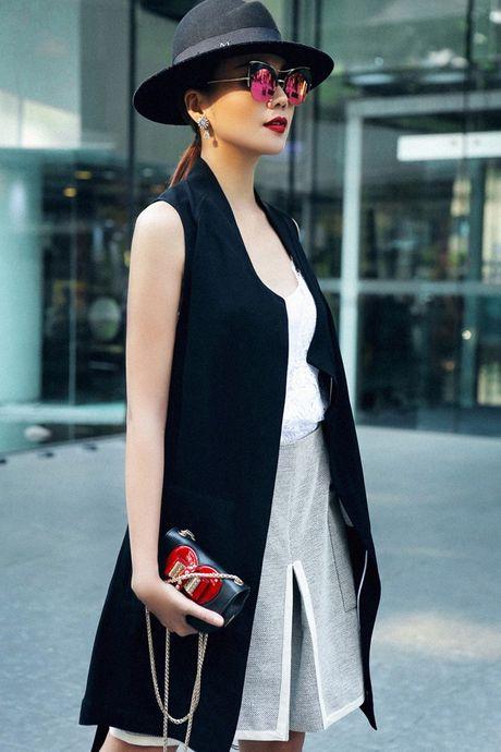 Bo suu tap blazer cua Thanh Hang - Anh 11