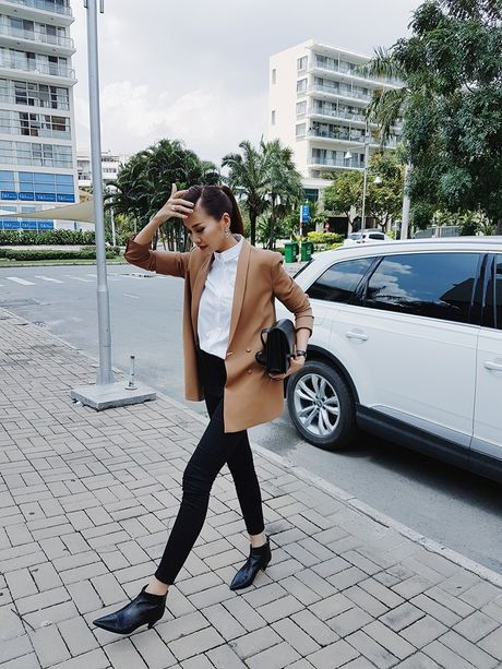 Bo suu tap blazer cua Thanh Hang - Anh 1