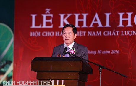 Hon 150 doanh nghiep trung bay san pham ve thuc pham - nong san sach - Anh 1