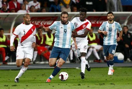 Peru 2-2 Argentina: Nghet tho den phut cuoi cung - Anh 1