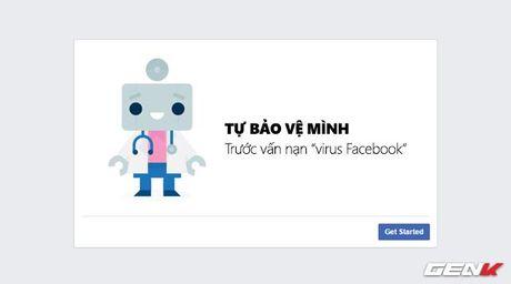 """Huong dan ban cach bao ve minh truoc van nan """"virus Facebook"""" dang lay lan hien nay - Anh 1"""