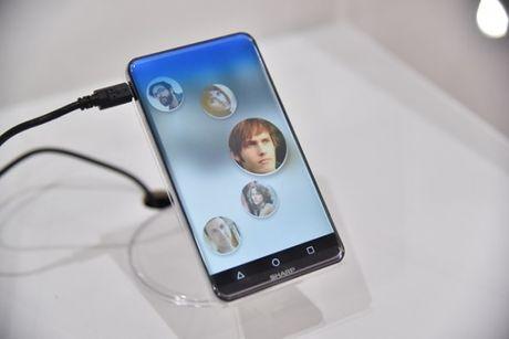 Sharp trinh lang ban concept smartphone Sharp Corner R: man hinh cong khong vien 5.2 inch - Anh 5