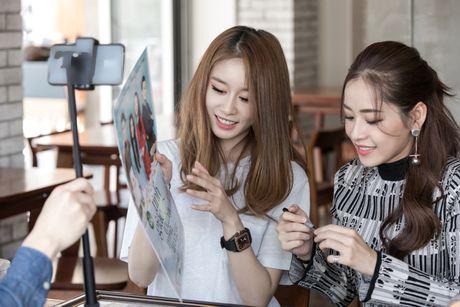 Chi Pu ru Ji-yeon (T-ara) livestream hen ho fan - Anh 5