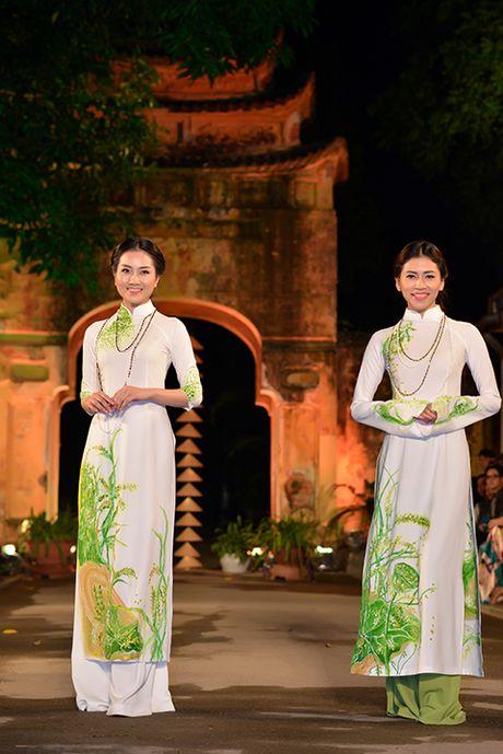 Hoa hau Ngoc Han lan dau dem thiet ke den 'Festival ao dai Ha Noi' - Anh 6
