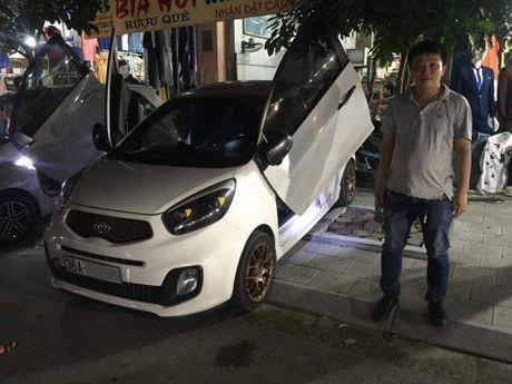 Them mot dan choi Thanh Hoa do cua cat keo Lamborghini cho Kia Morning, chi phi 15 trieu Dong - Anh 4