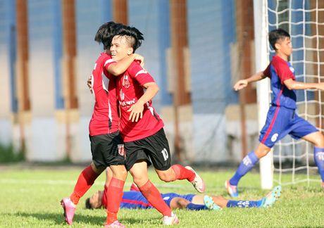 Giai U.21 Bao Thanh Nien 2016: Long An tranh chung ket bang voi PVF - Anh 1