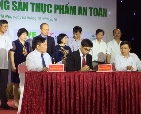15 doanh nghiep lon cam ket cung ung thuc pham an toan - Anh 1