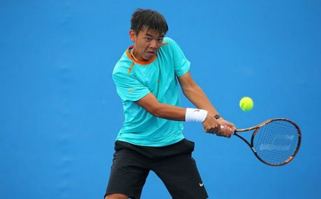 Hoang Nam tu tin kiem diem tai VN Open 2016 - Anh 1