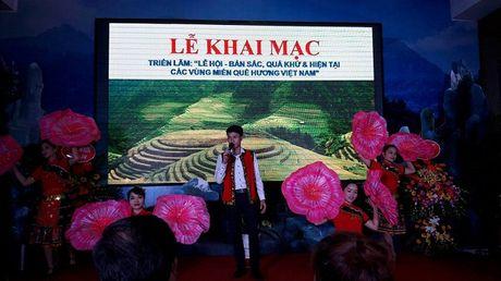 Khai mac 'Le hoi ban sac, qua khu va hien tai cac vung mien Que huong Viet Nam' - Anh 3