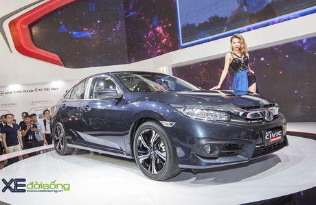 Ngam Honda Civic hoan toan moi, sedan thu hut nhat VMS 2016 - Anh 6