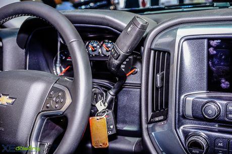 Chi tiet 'khung long' Chevrolet Silverado tai VMS 2016 - Anh 10