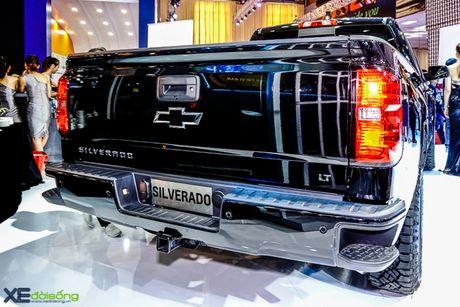 Chi tiet 'khung long' Chevrolet Silverado tai VMS 2016 - Anh 2