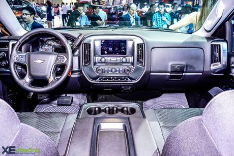 Chi tiet 'khung long' Chevrolet Silverado tai VMS 2016 - Anh 6