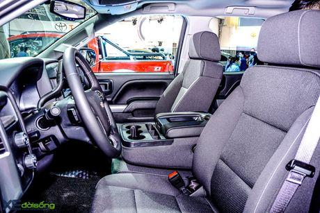 Chi tiet 'khung long' Chevrolet Silverado tai VMS 2016 - Anh 7