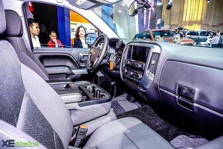 Chi tiet 'khung long' Chevrolet Silverado tai VMS 2016 - Anh 8