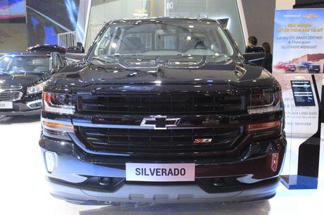 'Sieu ban tai' Chevrolet Silverado Midnight noi bat tai VMS 2016 - Anh 1