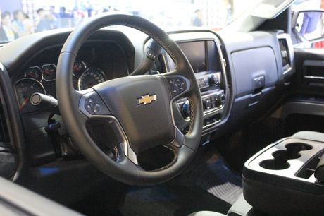 'Sieu ban tai' Chevrolet Silverado Midnight noi bat tai VMS 2016 - Anh 3