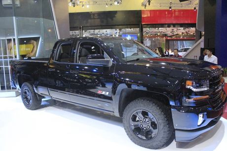 'Sieu ban tai' Chevrolet Silverado Midnight noi bat tai VMS 2016 - Anh 4