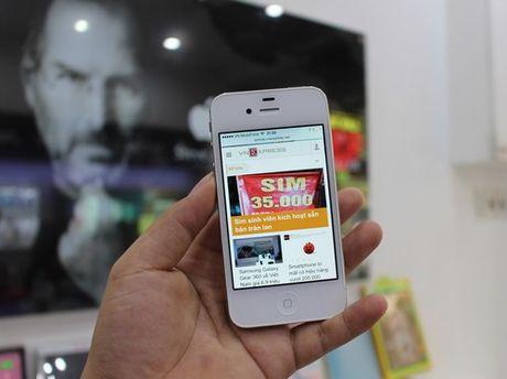 iPhone 4s nguyen seal ve Viet Nam gia 3,2 trieu dong - Anh 1