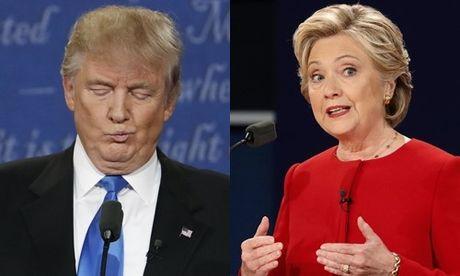 Donald Trump vuot Hillary Clinton trong hai khao sat toan quoc - Anh 1