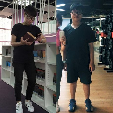 Duc Phuc da 'uong nuoc thay com' de giam 11 kg trong 1 thang nhu the nao? - Anh 4