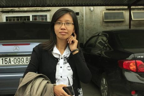 Nha bao Dang Thi Tuyen: Muon nhieu tien ma khong lao dong thi... - Anh 1
