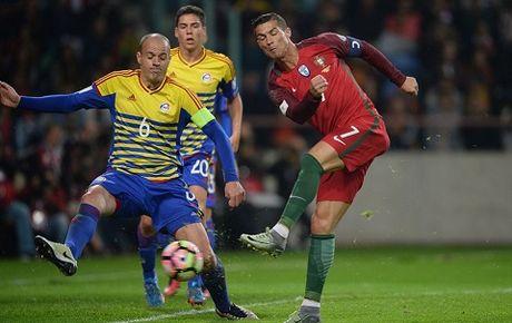 Bo Dao Nha 6–0 Andorra: Cristiano Ronaldo lap 'poker' ngay tro lai - Anh 1