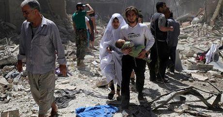 Nga de doa phu quyet de xuat cua Phap tai LHQ ve ngung ban o Aleppo - Anh 1