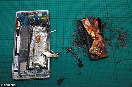 Thi nghiem soc: Galaxy Note 7 no tung khi pin chiu ap luc - Anh 5