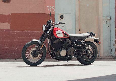 Yamaha 'nha hang' moto scrambler hoai co SCR950 - Anh 1