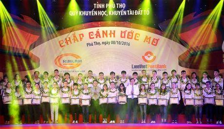 Phu Tho: Vinh danh khuyen hoc, khuyen tai nam 2016 - Anh 4