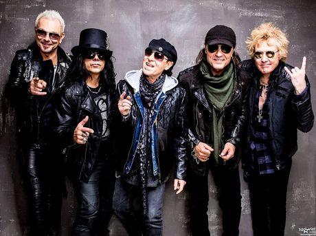 Phim tai lieu ve nhom nhac Rock Scorpions duoc cong chieu tai Viet Nam - Anh 1