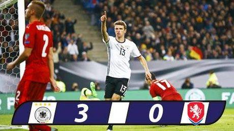 Mueller lap cu dup, Duc de dang ha CH Czech 3-0 - Anh 1