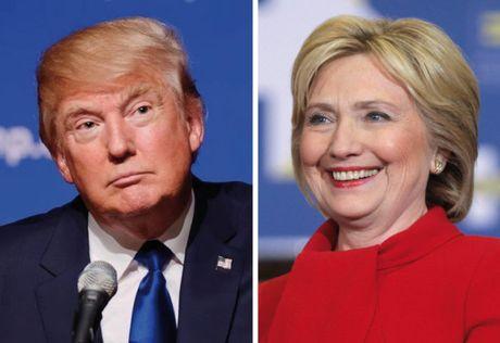 Sau su co va mieng, Donald Trump lai quay sang noi xau ba Clinton - Anh 1