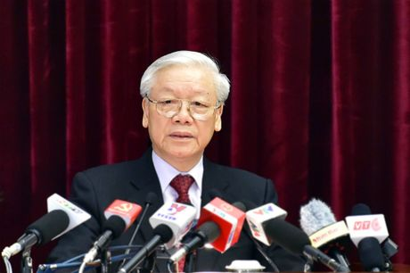 Tong bi thu: 'Tinh trang suy thoai co the gay ra nhung hau qua khon luong' - Anh 1