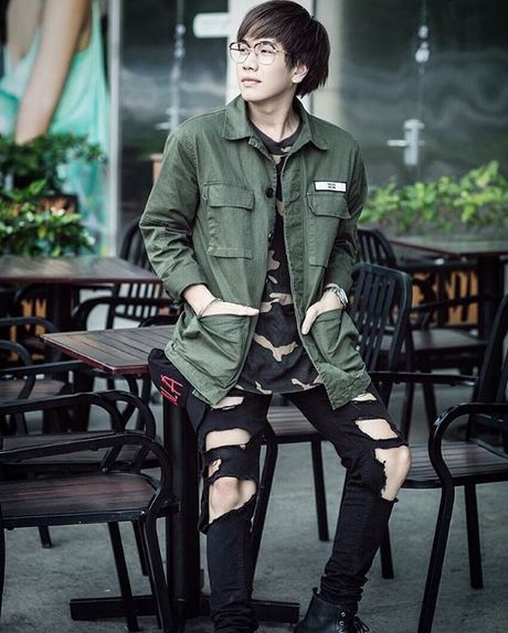 Khong chi giong hat, Lou Hoang con 'don nga' tim fans boi style cuc chat - Anh 2